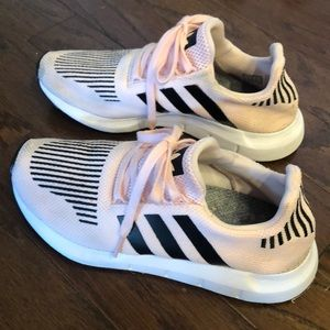 Pink Adidas Swift Run- kids/women